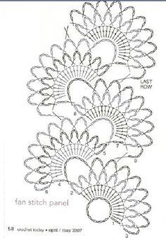 Crochet Paisley, Crochet Mandala Pattern, Crochet Square Patterns, Crochet Lace Edging, Crochet Stitches Patterns, Stitch Patterns, One Skein Crochet, Freeform Crochet, Thread Crochet