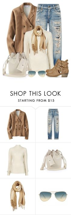 """Untitled #1179"" by gallant81 ❤ liked on Polyvore featuring Uniqlo, R13, Ann Demeulemeester, Street Level, Unpaired and Oliver Peoples"
