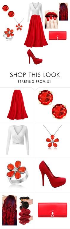 """Apps as People: Pinterest Prom"" by artybunbun on Polyvore featuring Reem Acra, Del Gatto and Fendi"