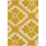 Chandra Rugs - Thomaspaul Dark Yellow/Beige Rugs - T-OBMC  SPECIAL PRICE: $438.00