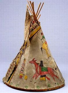 Central Plains Pictorial Miniature Wood and Hide Tipi Native American Teepee, Native American Decor, Native American Dolls, Dream Catcher Native American, Native American Regalia, American Quilt, Native American Artifacts, American Indian Art, Native American Fashion