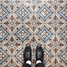 Sebastian Erras is a photographer and artist, who was born in 1986 in the south of Germany and currently based in Amberg, Bavaria, Germany. French Cafe, Floor Patterns, Different Patterns, Parisian, Pattern Design, Home Improvement, New Homes, Flooring, Photo And Video