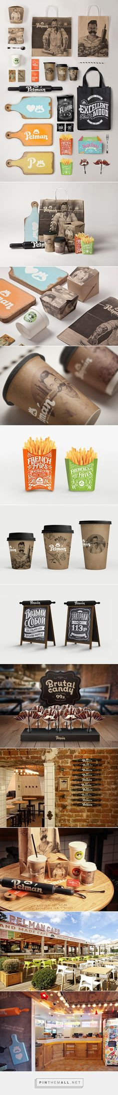 Cafe Branding: 'Pelman Handmade Cafe' by G-Sign curated by Packaging Diva PD.  I liked this #packaging #branding so much I got the rest of the story. Well, almost : ) created via http://inspirationhut.net/inspiration/cafe-branding-pelman-handmade-cafe-g-sign/