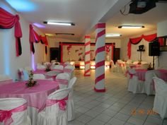 Felices quince a os on pinterest mesas sweet sixteen - Mesas para buffet ...