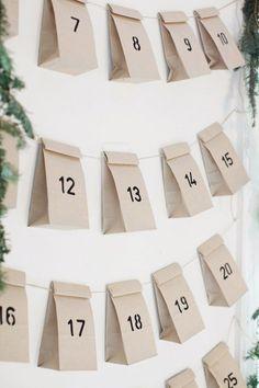 Six stylish advent calendar ideas | These Four Walls blog