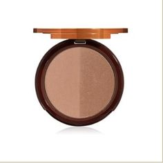 Two-Faced Bronzer: Sun Bunny. Provides great color w/a bit of shimmer, always helped me look tan on my palest of days!!