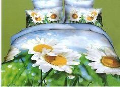 Pościel 3D stokrotka dostępna w sklepie kasandra.com.pl Comforters, Blanket, Bedding, Duvet Covers, Creature Comforts, Blankets, Bed Linen, Carpet, Linens
