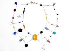 #loranikolova #bijoux&art #necklace #colors #art #madeinitaly Diy Jewellery, Jewelry Art, Jewelery, Jewelry Necklaces, Beaded Necklace, Jewelry Design, Fashion Jewelry, Handmade Necklaces, Handmade Jewelry