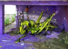 Arte y basura en su máxima expresión