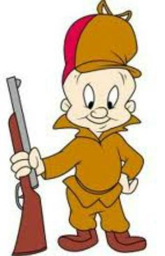 HAPPY BIRTHDAY to ELMER FUDD! Fictional cartoon character in the Warner Bros. Looney Tunes/Merrie Melodies series, and an adversary of Bugs Bunny. He has one of the more disputed origins in the Warner Bros. cartoon pantheon (second only to Bugs himself) Looney Tunes Characters, Classic Cartoon Characters, Looney Tunes Cartoons, Favorite Cartoon Character, Classic Cartoons, Cartoon Character Tattoos, Cartoon Kunst, Cartoon Drawings, Cartoon Art