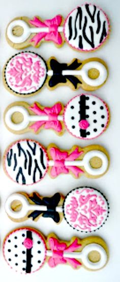 Born to be Wild Cookie Inspiration for a Baby Shower