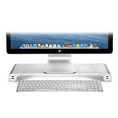 Space Bar Keyboard Organizer & USB Hub - Aluminum