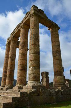 Photoset: The Punic-Roman Temple of Antas, Sardinia
