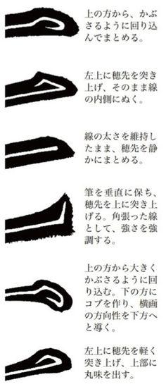書法解剖 ─ 楷書編 Calligraphy Types, Japanese Calligraphy, Typography Logo, Typography Design, How To Make Drawing, Japanese Kanji, Chinese Brush, Chinese Characters, Chinese Painting