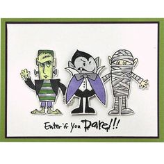 Stampendous Clear Stamps COSTUME STACK SSC1245 Preview Image
