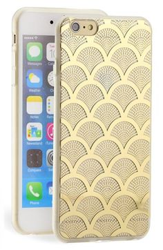 Free shipping and returns on Sonix 'Gold Lace' Clear iPhone 6 Plus Case at Nordstrom.com. Scalloped lace appears to drift across a clear, rigid case built to protect and display your iPhone.