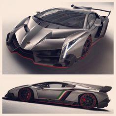 Lamborghini Veneno 4.6 million dollars and only 3 made!