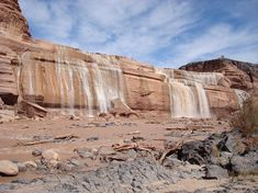 Flagstaff - Grand Falls of the Little Colorado River (TripAdvisor). Only after a rain!