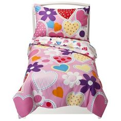 Crown Crafts Inc. Hearts - 4 Piece Toddler Set : Target Mobile
