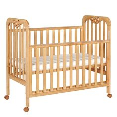 Tutti Bambini Jenny Dropside Cot on wheels http://www.parentideal.co.uk/mothercare--cots-cot-beds.html