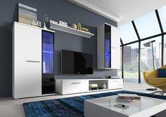 Living room set - Wall Unit /Cabinet /TV Stand /Shelf  uk.picclick.com