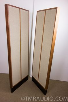KLH Model 9 Vintage Electrostatic Speakers in Factory Box; One Owner - Stunning! KLH | The Music Room
