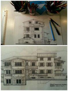 Ristrutturazione architettonica casa in campagna...