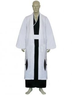Bleach 13th Division Captain Ukitake Juushiro Cosplay Costume