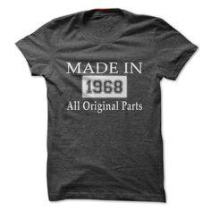 MADE IN 1968 - ALL ORIGIN... #Aged #Tshirt #year