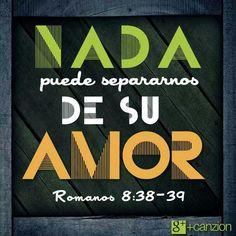 Nada nos separará del amor de Dios