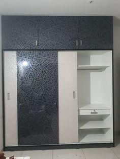 Bedroom Closet Storage, Bedroom Closet Design, Bedroom Furniture Design, Bedroom Wardrobe, Modern Bedroom Design, Wall Wardrobe Design, Sliding Door Wardrobe Designs, Wardrobe Interior Design, Kitchen Room Design