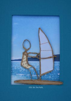 Take a look at this amazing %%KEYWORD%% - what an innovative theme Driftwood Crafts, Wire Crafts, Diy And Crafts, Sculptures Sur Fil, Wire Art Sculpture, Personalized Hangers, Art Du Fil, Origami And Quilling, Newspaper Art