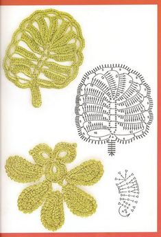 crochet leaf pattern ⋆ Crochet Kingdom
