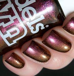 """Models Own """"Warm Rustic Pink"""" nail polish"""