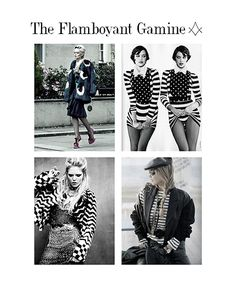 Line is the secondary Principle of Dress used by The Flamboyant Gamine.