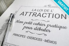 Vibrational Manifestation - Loi de l'Attraction – Mon petit cahier pratique Bird Watcher Reveals Controversial Missing Link You NEED To Know To Manifest The Life You've Always Dreamed Long Term Illness, Law Attraction, Miracle Morning, Positive Attitude, Vie Positive, Positive Affirmations, Self Help, Reiki, Are You Happy