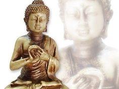 Estátua Buda Hindu Flor de Lotus - 16cm - Vitrine Zen - Vitrine Zen