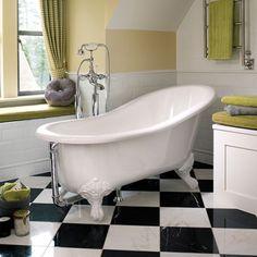 Banheira Vitoriana Slipper - Doka Bath Works