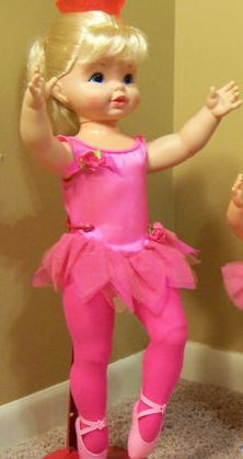 Loved this doll, although it drove me crazy that her crown didn't come off for hair styling purposes. Dancerina, Mattel 1970's