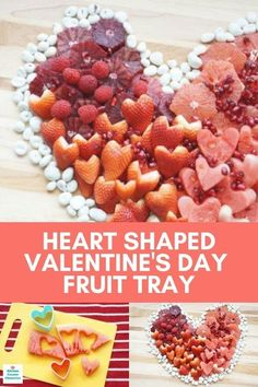 What a delicious way to share your love! Make a delightful, heart shaped Valentine fruit tray idea. A healthy Valentine treat. #valentinefruittray #valentinefruitforkids #valentinefruitarrangement #valentinefruitplatter #valentinefruitideas #fruittrayideas #fruitarrangementidea #strawberryhearts Valentines Day Food, Valentine Treats, Strawberry Pop Tart, Heart Shaped Cookie Cutter, Fruit Recipes, Dessert Recipes, Top Recipes, Appetizer Recipes, Snack Recipes
