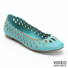 LC Lauren Conrad Ballet Flats - I am in love! I hope they get these in my size soon. <3