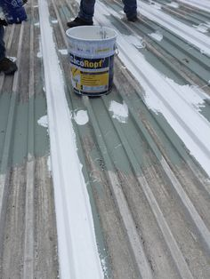 Commercial Roofing Repair Using Silicone Coating Roof Insulation, Commercial Roofing, Asphalt Shingles, Steel Roofing, Roofing Contractors, Roof Repair, Cool House Designs, Oahu, Construction