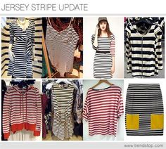 Hot New Fashion Trends: Spring Summer Fashion 2013 - STRIPES