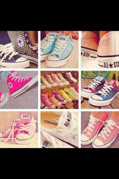 Converse shoes  want a a pair in every color