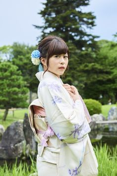 Japanese Outfits, Voice Actor, Japanese Kimono, Cute Woman, Art And Architecture, Beautiful Pictures, Kawaii, Culture, Actresses