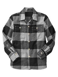 Caden? Checkered flannel shirt