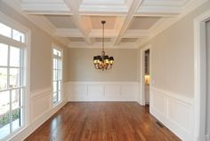 Ceilings for family room (paint is SW Accessible Beige) Farmhouse Paint Colors Interior, Light Beige Paint Colors, Room Paint Colors, Room Paint Colors Sherwin Williams, Accessible Beige, Farmhouse Paint, Beige Kitchen, Beige Living Rooms, Room Paint