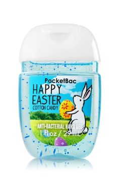 Happy Easter - PocketBac Sanitizing Hand Gel - Bath & Body Works - Now with more happy! Our NEW PocketBac is perfectly shaped for pockets & purses, making it easy to kill of germs when you're on-the-go! New, skin-softening formula conditions with Alo Bath N Body Works, Bath And Body, Alcohol En Gel, Natural Gel Nails, Hand Sanitizer Holder, Perfume, Hand Care, New Skin, Feet Care