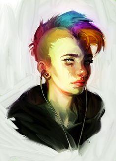 ArtStation - Punk, Susanna Wesslund