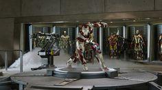 Salle des armures Iron Man 1/6 (partie 1: conception)